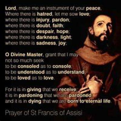 St Francis Prayer