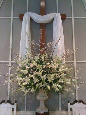 Easter Church Flowers