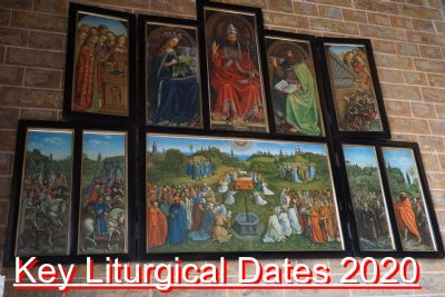 Key Liturgical Dates 2020