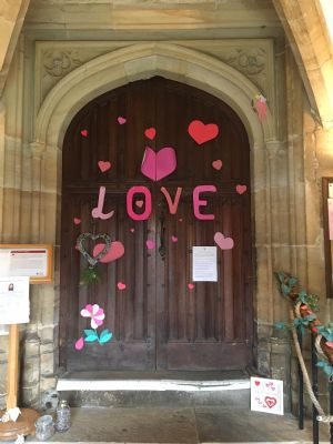 Love St Ds South Door