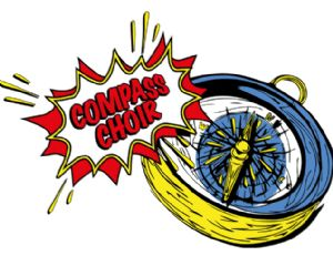 Compass Choir logo