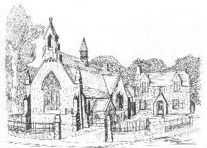 Cumnock Congregational Church drawing