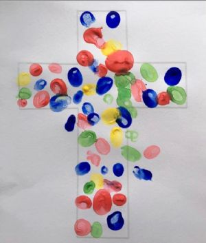 Decorated cross