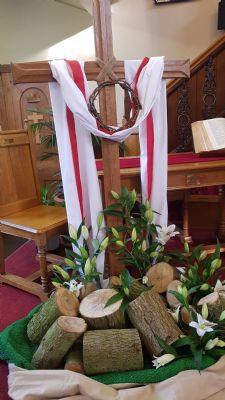 Maundy Thursday Cross