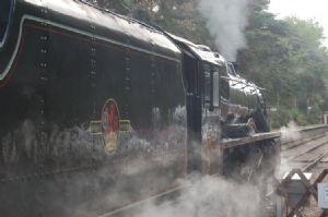 Steam Train at Holt Railway Station