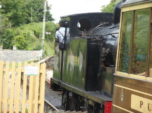 Steam train from Corfe to Norden