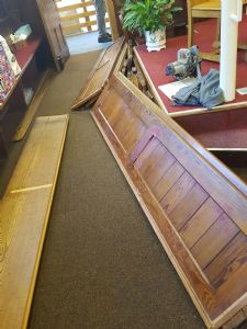 Removal of Pews 4