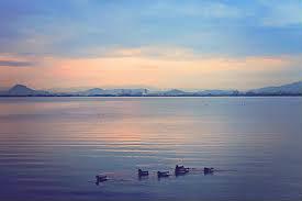 Lake Biwa sunrise