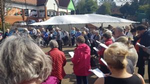 Singing in Hallcroft
