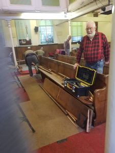 removal of Pews 2