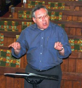 Conductor - our Pastor Howard