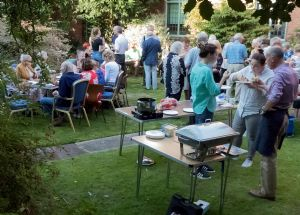 Barbecue in Church Garden