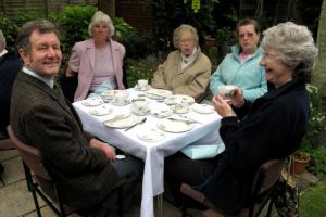 Tea at Manse May 2011