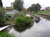 View over waterway at Zouch