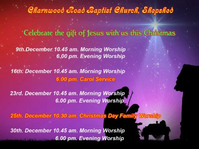 Christmas Services at CRBC