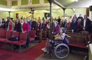 singing praises