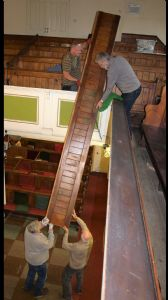 Removal of Pews 7
