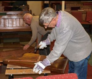 Removal of Pews 8