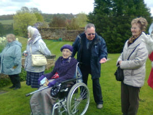 More of our group at Felley Priory