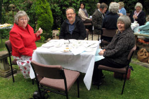 Tea at Manse 2011