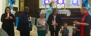 Baptisms at St. Margarets on 9 June
