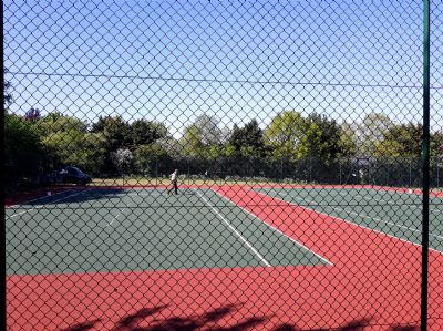 Lockdown will end - anyone for tennis?
