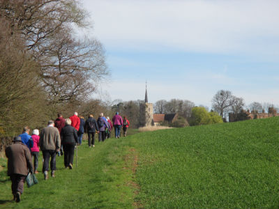 Walking to Hunsdon