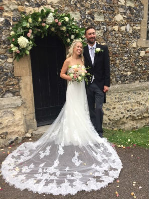 Marriage of Georgina Worley and Saman Harris, Saturday 15th July 2017