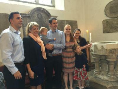 Baptism of Beau