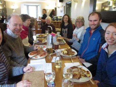 Lent Walk pub lunch