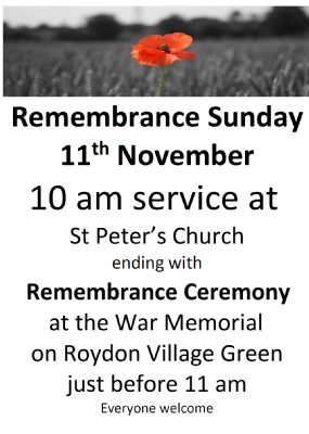 Remembrance Service and Ceremony