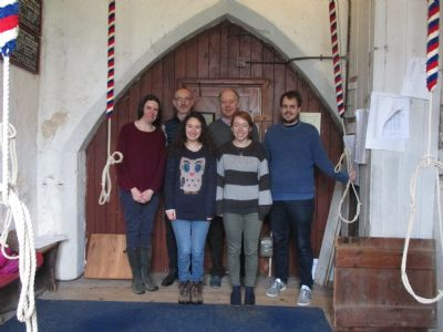 Bell ringing team