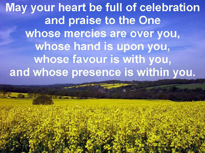 May your heart ...