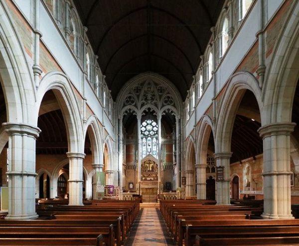 Holy Trinity Roehampton interior