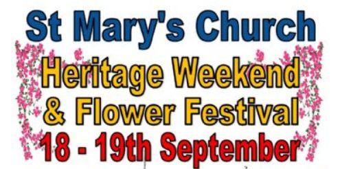 Heritage weekend 18-19th September