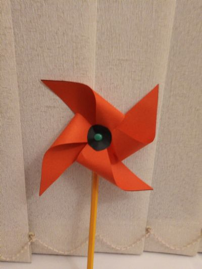 Poppy windmill