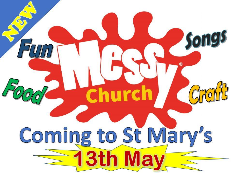 Messy Church Coming Soon