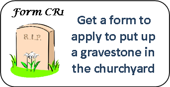 Form to apply for a gravestone