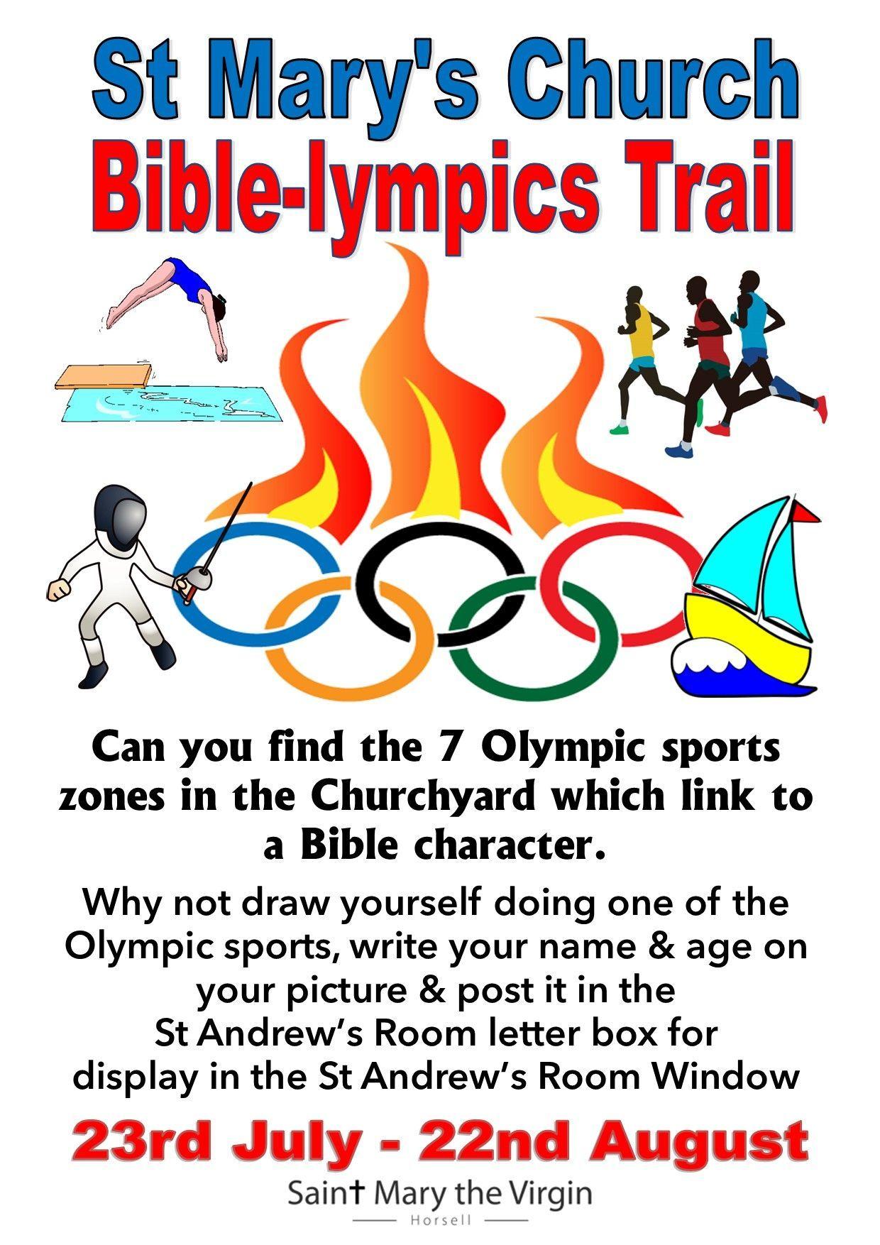 Bible-lympics trail