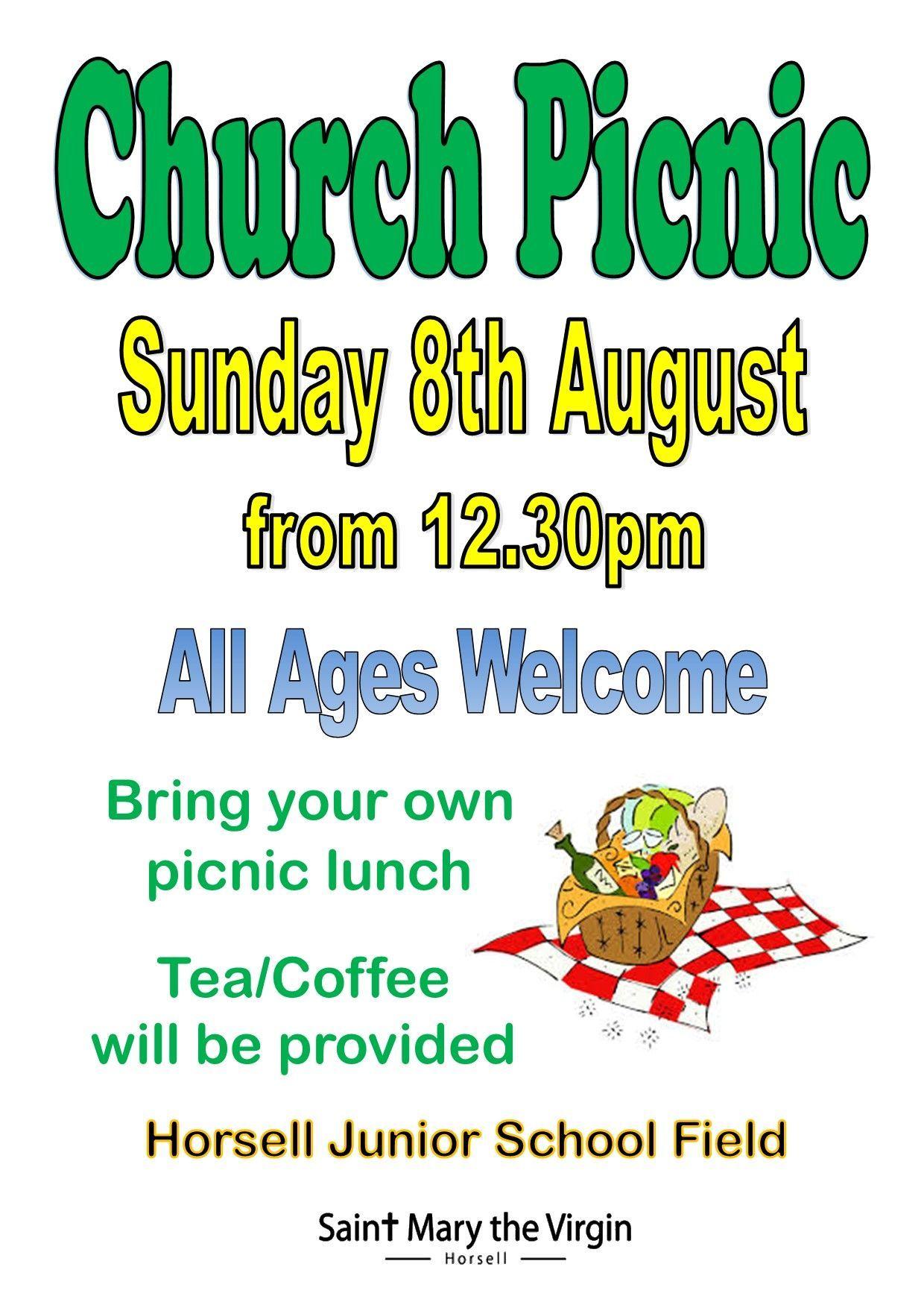 Church picnic - 8th August