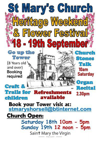 Heritage weekend poster