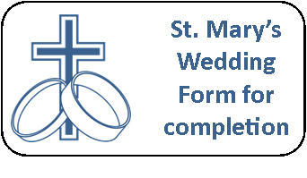 Wedding Form for completion