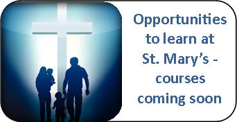 opportunities to learn at St. Marys - courses button