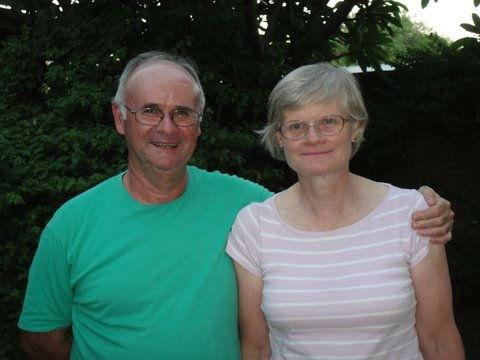 Chris and Alison Hawksbee