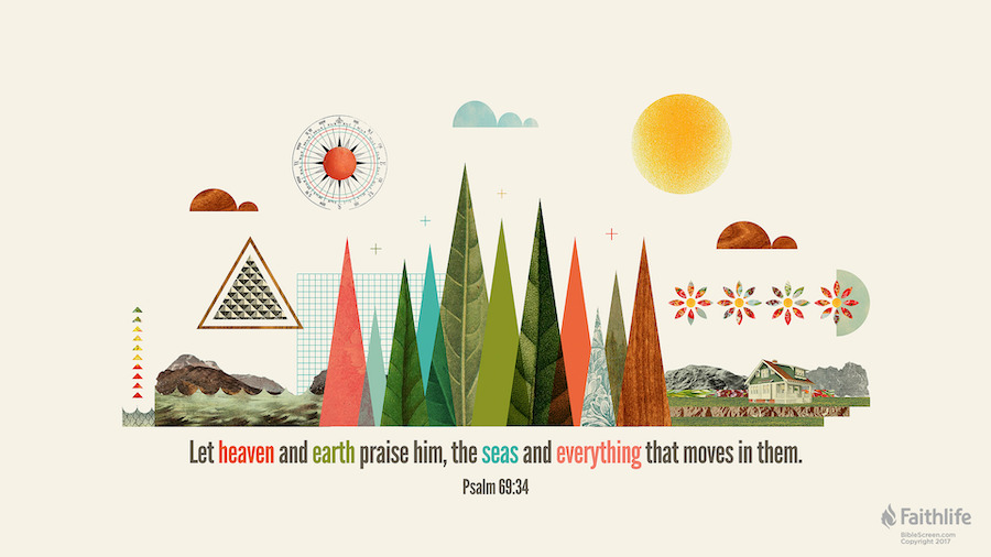 Psalm 69 34