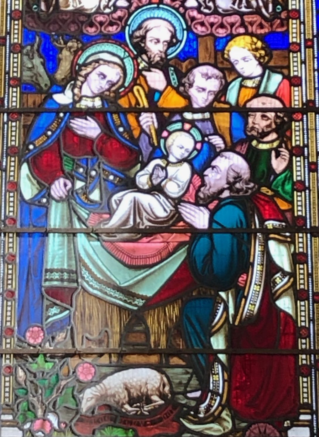CCSB East Window Nativity