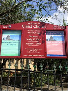 The Church Notice board