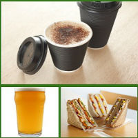 Coffee, Beer, Sandwich