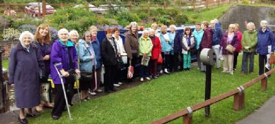 Over 55s group photo