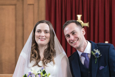 Ross Harty and  Katherine Smith